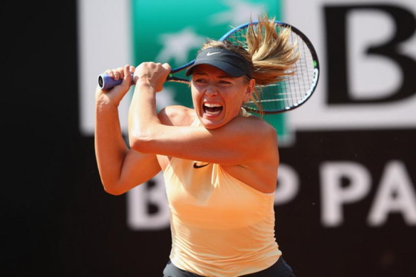 WTA Rome: Maria Sharapova l'emporte sur Ostapenko.  Svitolina  tops Kerber