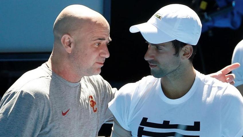 Novak Djokovic est égal à Andre Agassi et Ilie Nastase  réussite