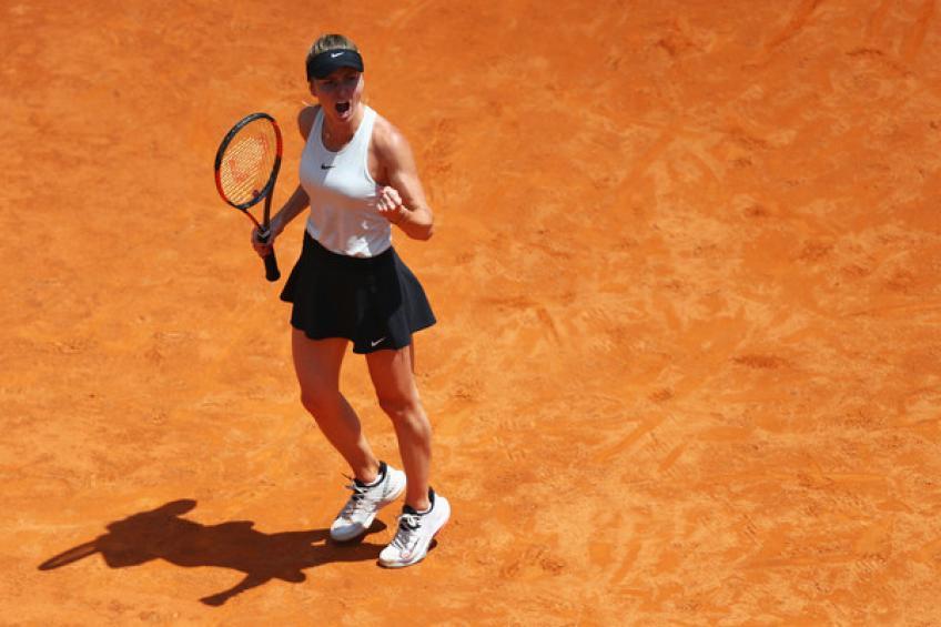 WTA Rome: Elina Svitolina est forte contre Halep  défendre le titre