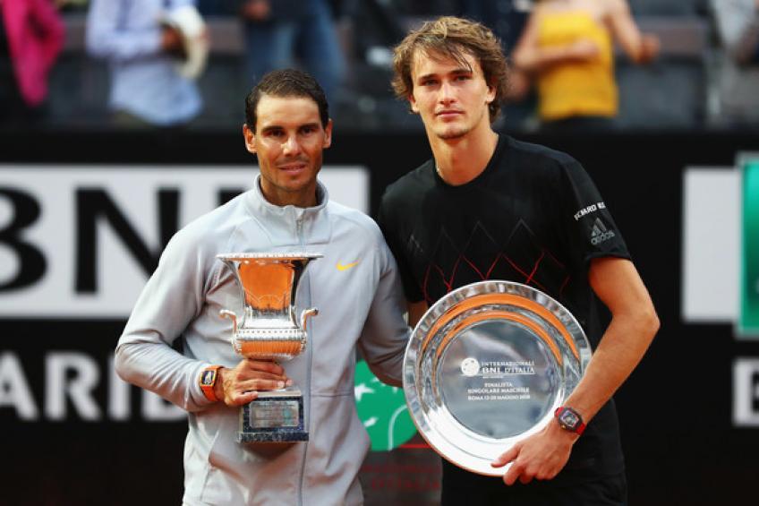 ATP Race: Alexander Zverev devance Roger Federer  25 points