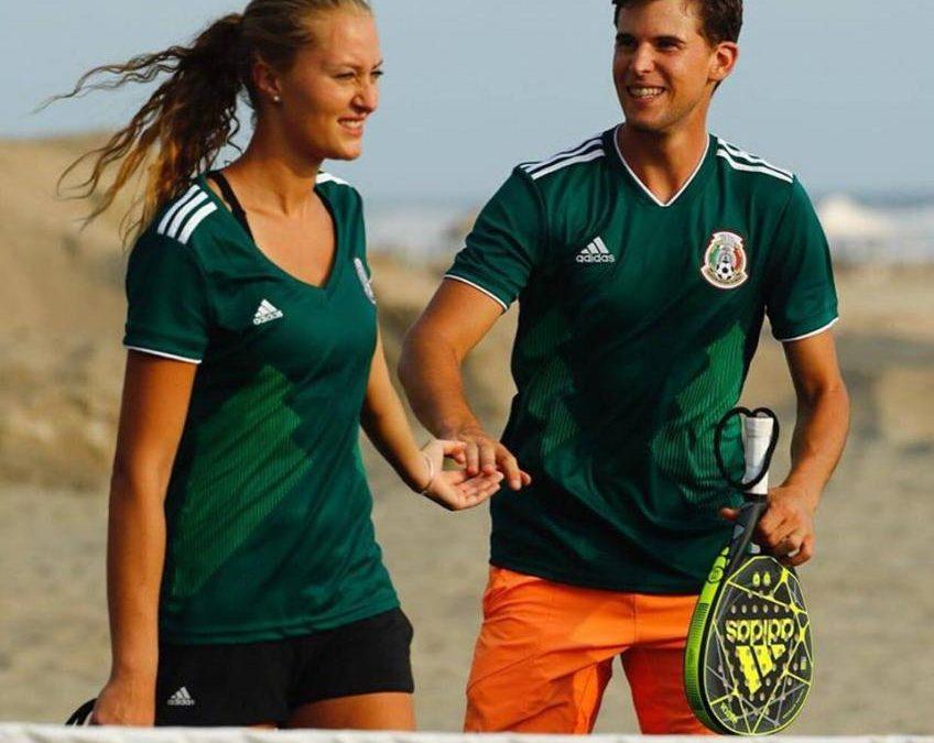 Thiem est en désaccord avec son amie Kristina Mladenovic ...