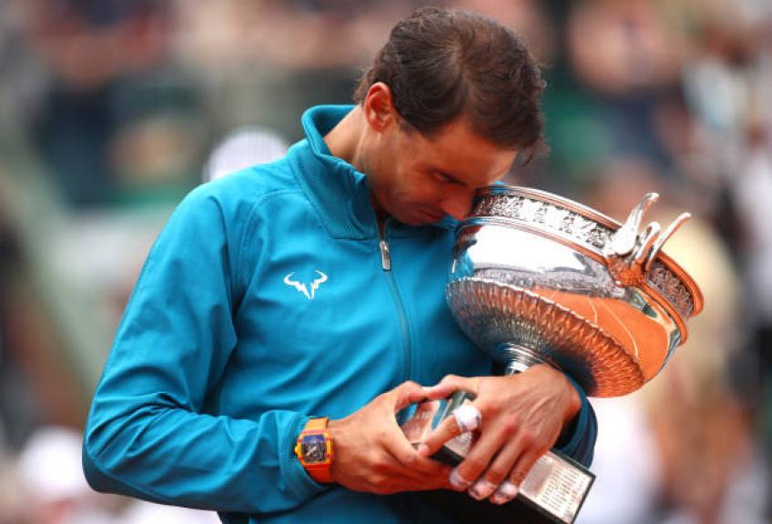 À 32 ans, Rafael Nadal mieux que Roger Federer