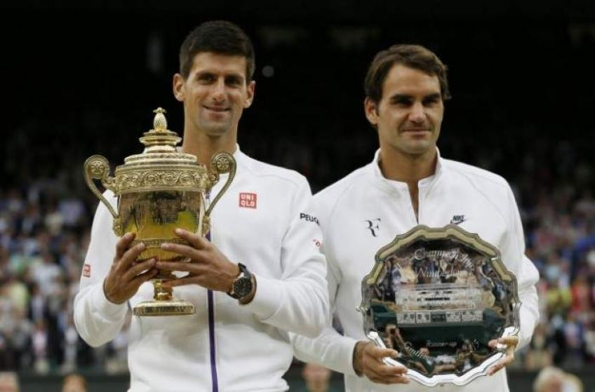 Wimbledon à emporter: une opportunité perdue pour Federer et  Djokovic à rencontrer