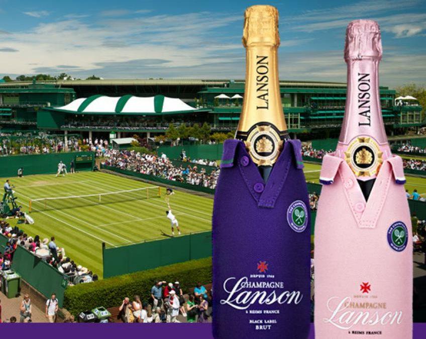 Le fournisseur officiel de champagne de Wimbledon renouvelle  Contrat