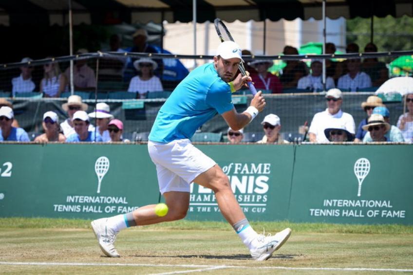 ATP Newport: Johnson bat Harrison.  Muller, Ebden et  Zverev perd