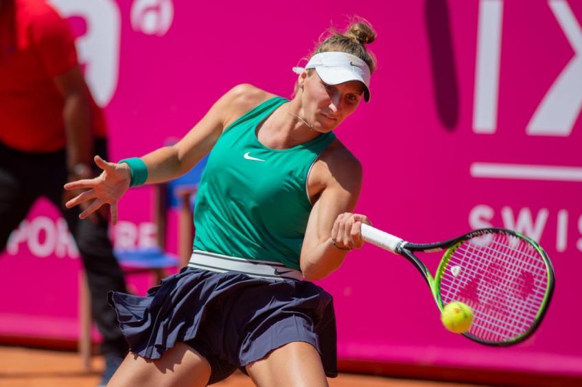 WTA Gstaad: Marketa Vondrousova rencontre Evgeniya Rodina  les quarts de finale