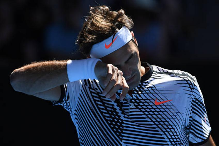 Révélé: quand Nike va donner le logo RF à Roger  Federer