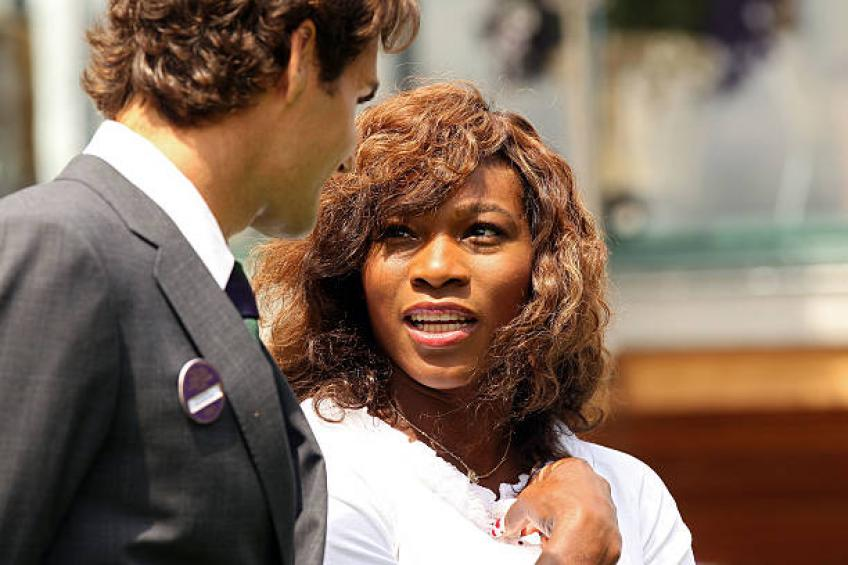 "Serena Williams: ""Roger Federer est très proche de mon 23 Major  titres"