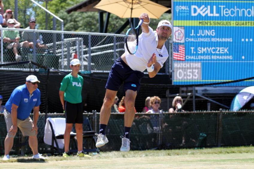 ATP Newport: Première demi-finale ATP pour Smyczek.  Ramanathan  gagne aussi