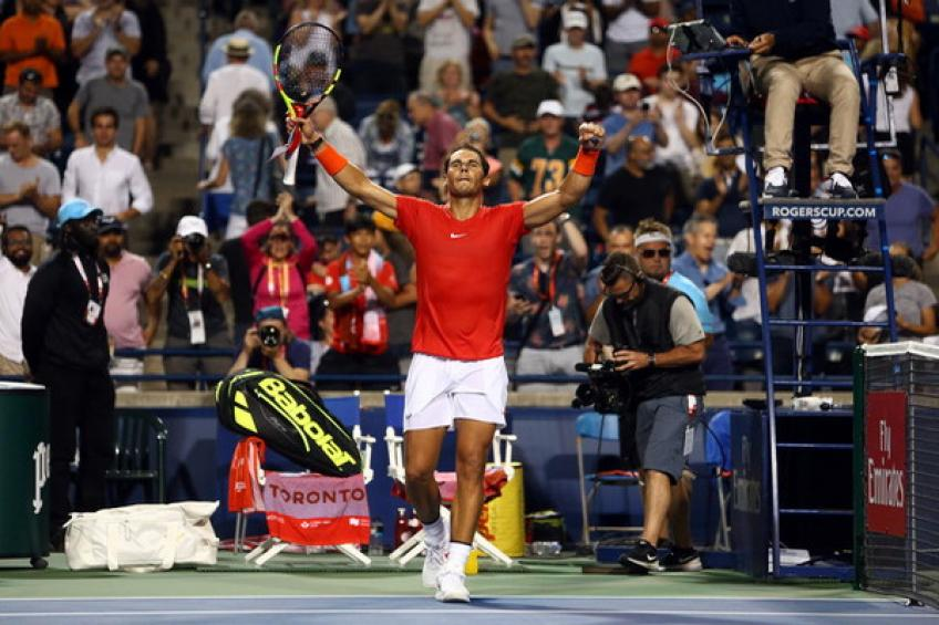 ATP Toronto: Rafael Nadal sur le point de démanteler Wawrinka Zverev Medvedev
