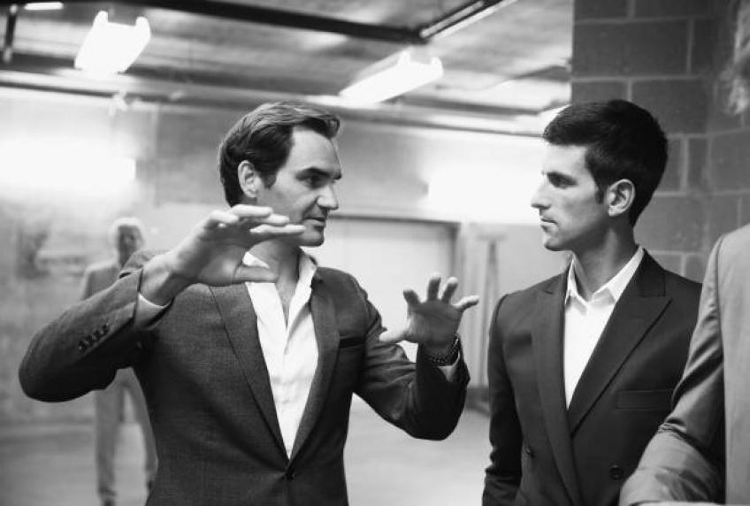 Agent de Federer: Roger et Novak Djokovic parleront de politique chez Laver Cup