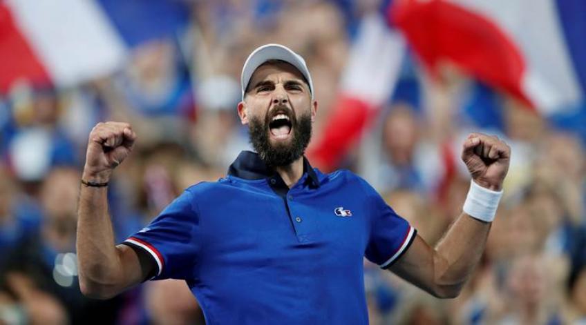 Benoit Paire, 29 ans, n'a jamais baissé les bras et a fini par rêver Coupe Davis