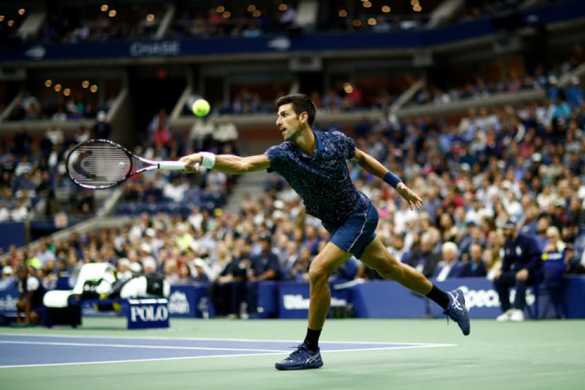 US Open: Novak Djokovic coule Juan Martin del Potro pour attraper Pete Sampras