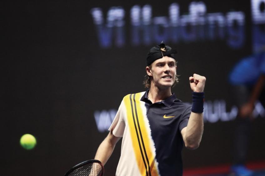 ATP Saint-Pétersbourg: Dominic Thiem et Denis Shapovalov atteignent QF