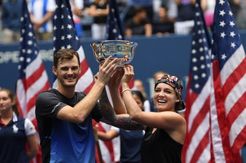 US Open: Jamie Murray et Bethanie Mattek-Sands s'imposent double couronne