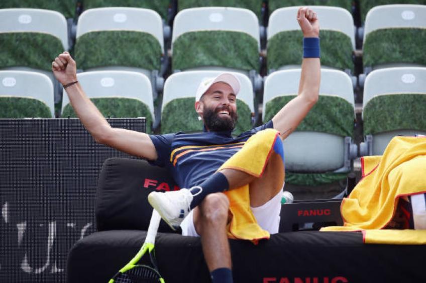 Benoit Paire: Maintenant, je pense plus au tennis qu'à briser les raquettes