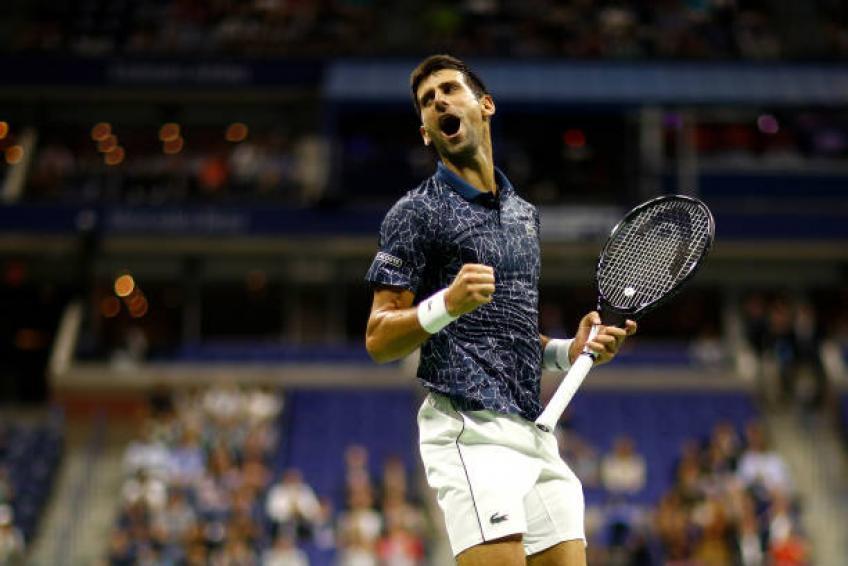 Novak Djokovic partage un poste émouvant après l'US Open gagner