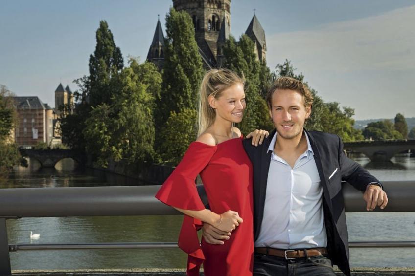 La petite amie Clemence réconcilie son petit ami Lucas Pouille avec Benoit Paire