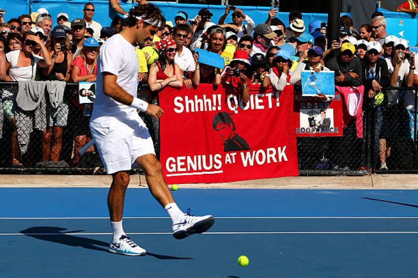 Roger Federer: «J'essaie toujours d'être un modèle pour les enfants