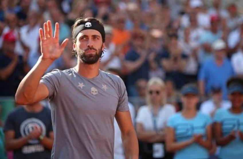 Nikoloz Basilashvili devrait manquer l'ATP de la semaine prochaine Anvers