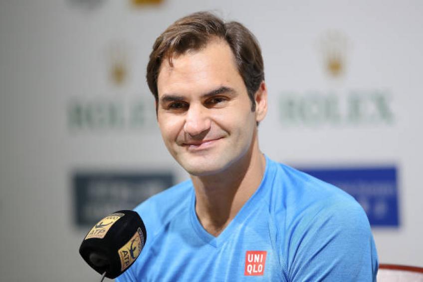 Roger Federer: 'Bautista a pris feu. C'était un dur rencontre'