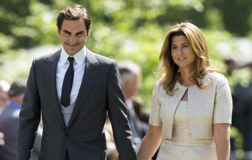 Roger Federer: Ma femme et mes enfants s'amusent bien je suis en train de travailler