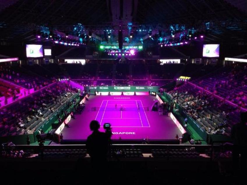 Finales WTA pour organiser des activités à Marina Bay et Sports Centre