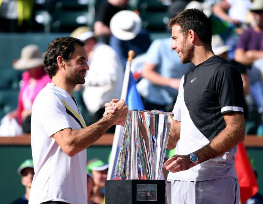 J'aime être un rival difficile pour Roger Federer et Rafa Nadal, dit del potro
