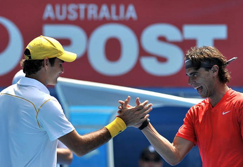 Prix de l'esprit sportif ATP: Roger Federer et Rafael Nadal nommé