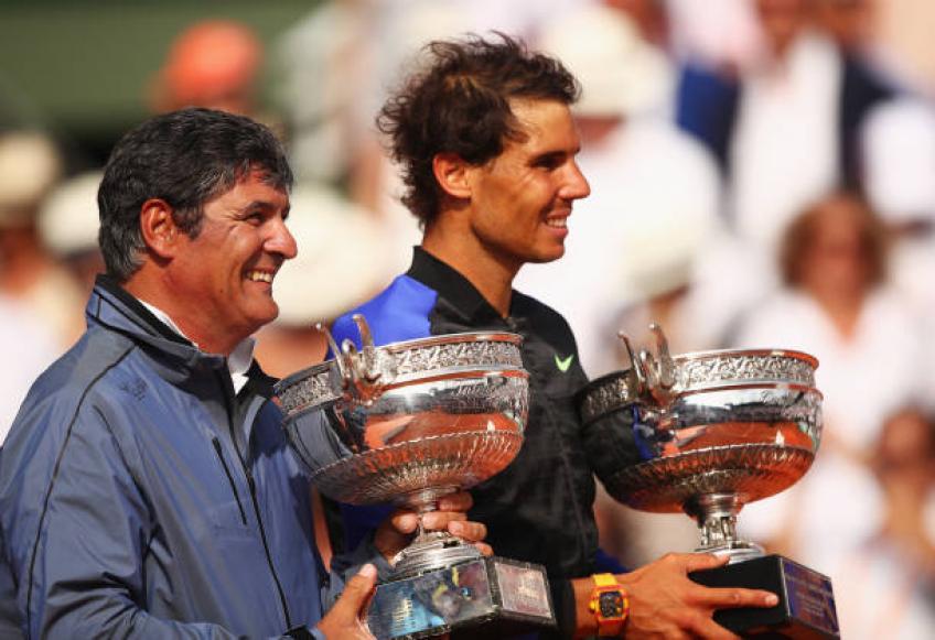 Toni Nadal explique pourquoi Rafael continue de jouer au tennis