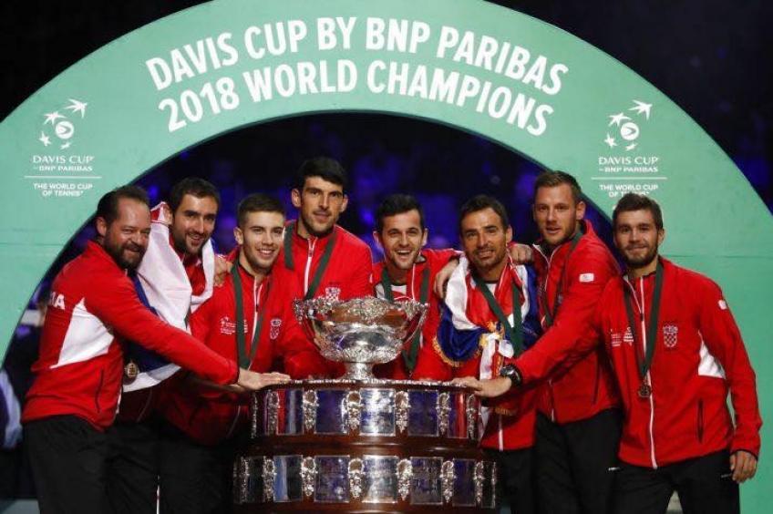 Cinq raisons qui ont fait de la Croatie l'équipe gagnante de Davis tasse