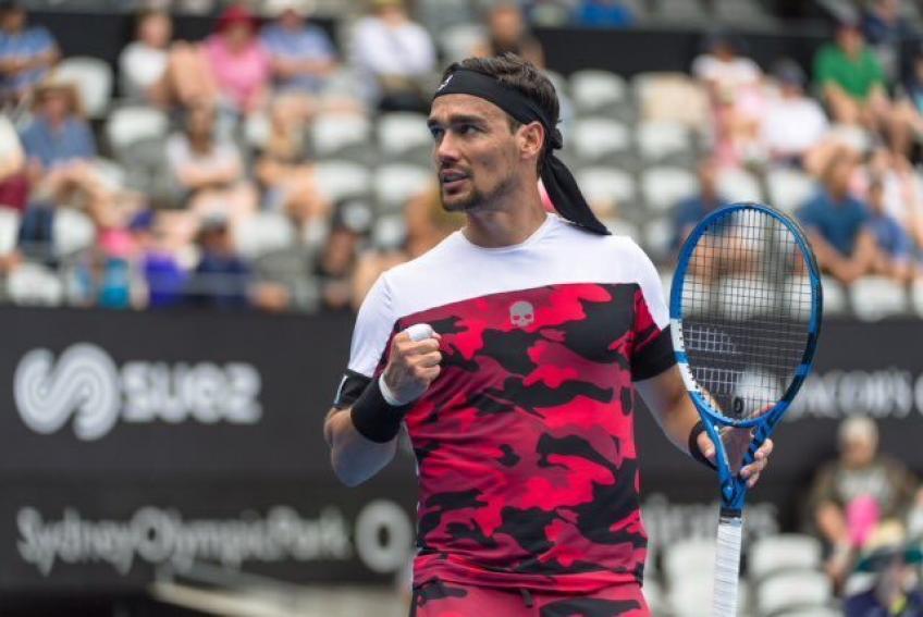 Fabio Fognini: J'ai joué au grand tennis en 2018 et j'espère faire de même en 2019