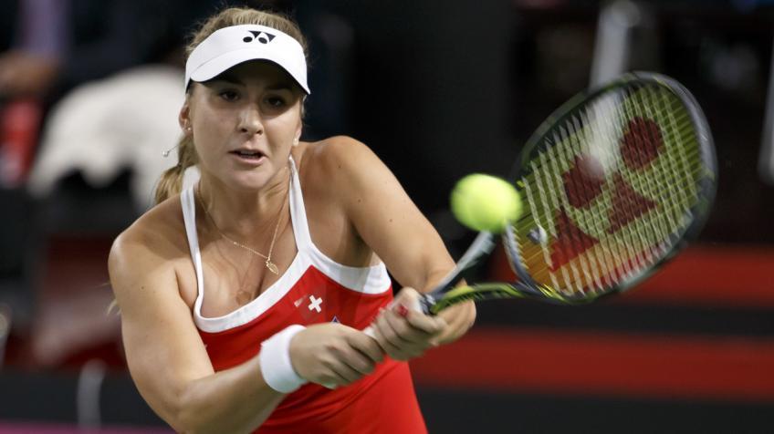 Belinda Bencic dit qu'elle sort avec sa forme physique Entraîneur