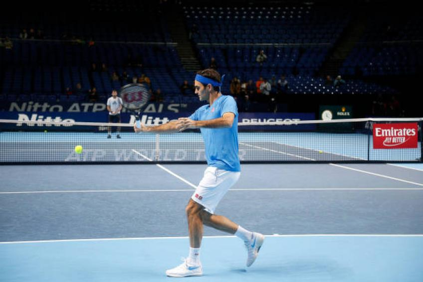 Herbert: 'Entraînement avec Roger Federer, j'étais heureux comme un enfant'