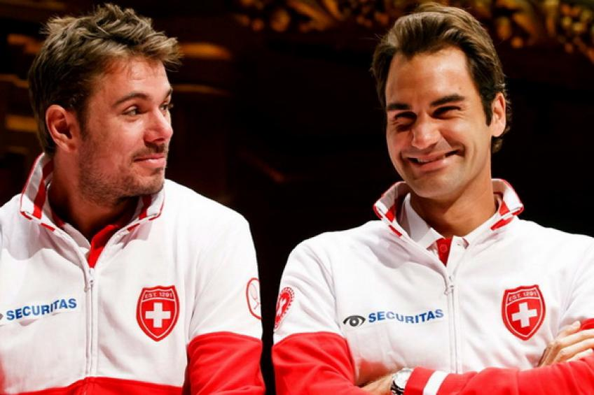 La Suisse accueille la Russie à Bienne sans Roger Federer et Stan Wawrinka