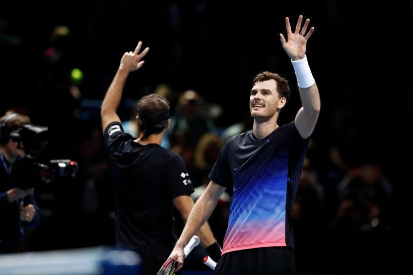 Finales ATP: Jamie Murray et Bruno Soares vont bien début