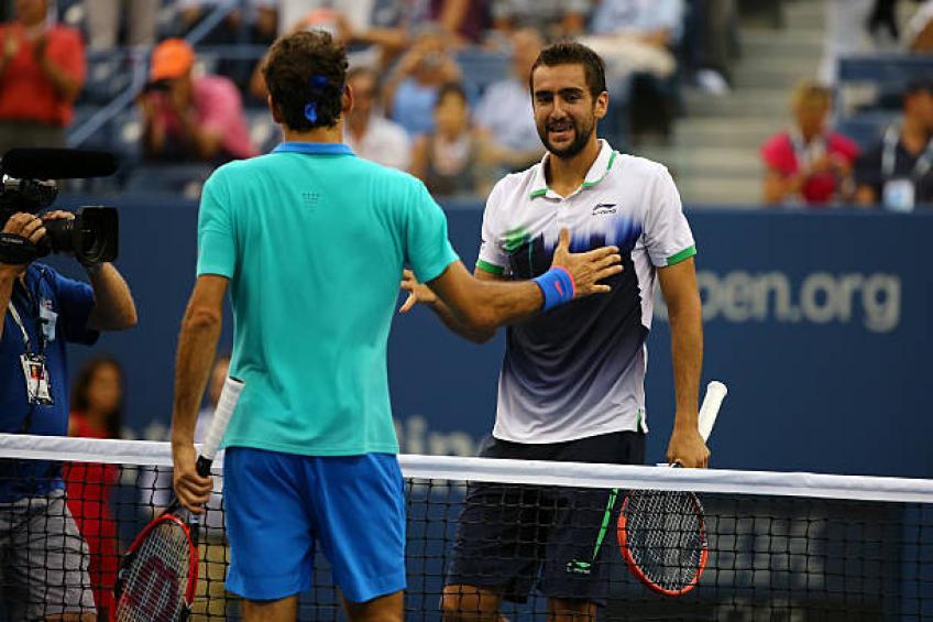 """""""L'un des meilleurs matchs que j'ai jamais joué"""" – Cilic à l'US Open gagner contre Federer"""