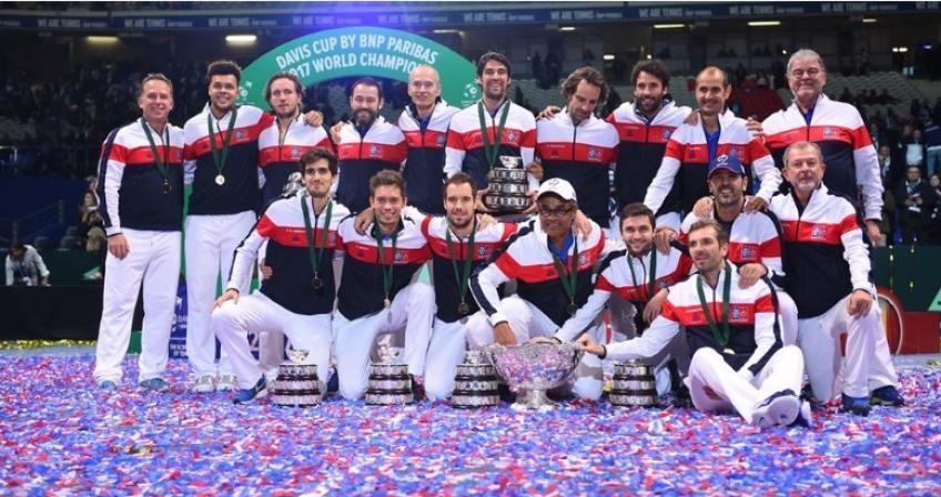 Spécial Coupe Davis: 2017, la France remporte son dixième Titre