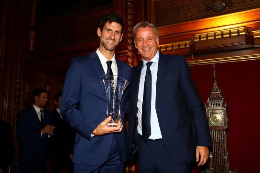 Je ne m'attendais pas à devenir le numéro 1 mondial, admet Novak Djokovic