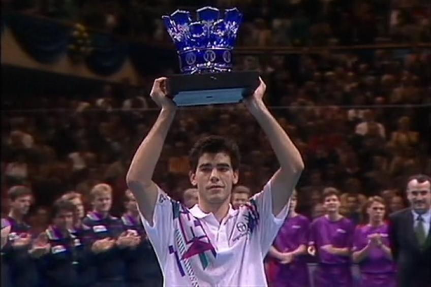 Finale ATP 1991: Pete Sampras domine Jim Courier en finale 100% américaine