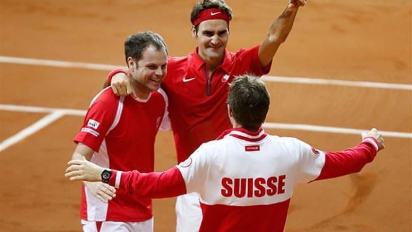 Spécial Coupe Davis: 2014, la Suisse bat la France l'histoire