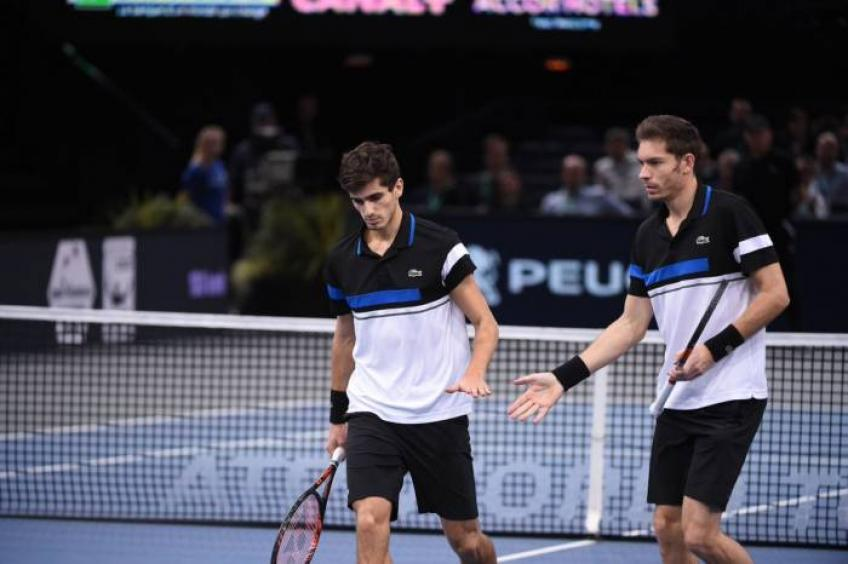 Nicolas Mahut espère continuer la campagne des finales ATP après blessure monstre