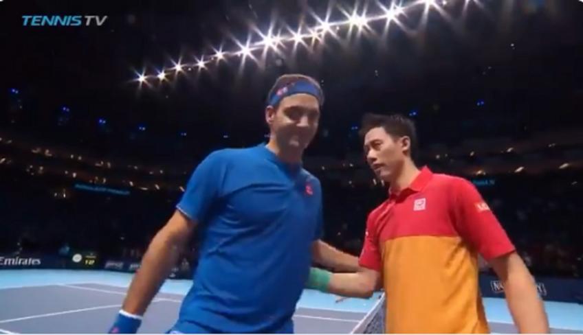 Nishikori bat Federer – Match Point