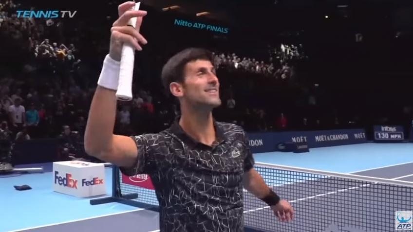 Djokovic vs Isner Match Point – Finale ATP 2018
