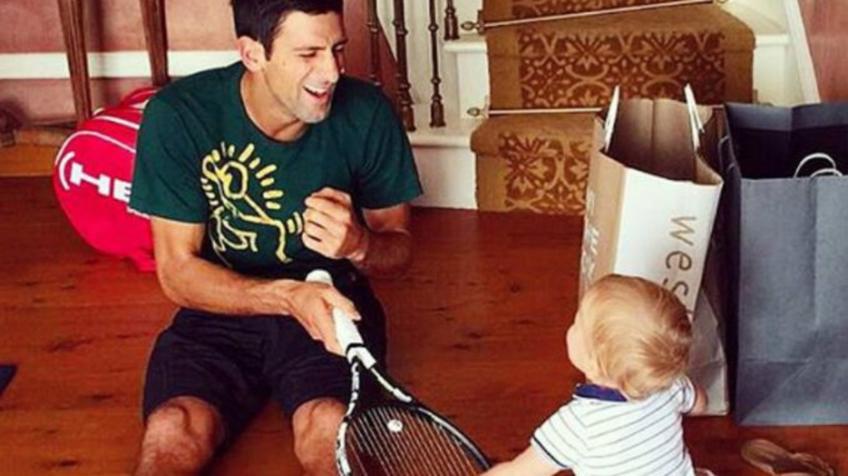 Novak Djokovic explique comment la paternité l'a aidé à avoir encore du succès