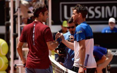 Roger Federer avertit Dominic Thiem: 'Entièrement concentré sur le match contre lui'