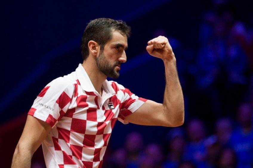 Coupe Davis: Marin Cilic met Lucas Pouille à l'abri titre pour la Croatie!