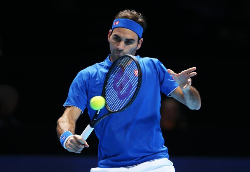 Avec Roger Federer, participant à la finale 2018 de l'ATP diminue