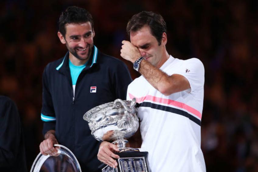 Marin Cilic: 'Perdre et gagner contre Roger Federer, Nadal est un privilège