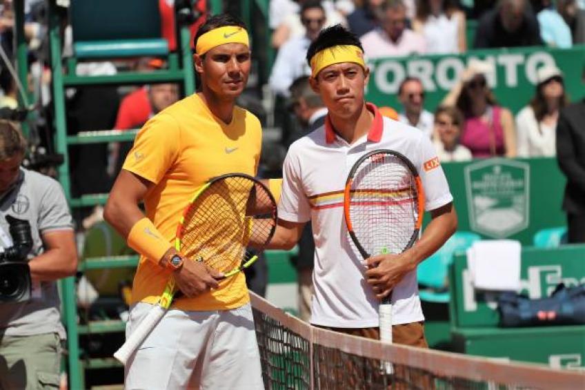 Nishikori: Je me suis senti désolé pour Rafa Nadal, del Potro sauter Finale ATP